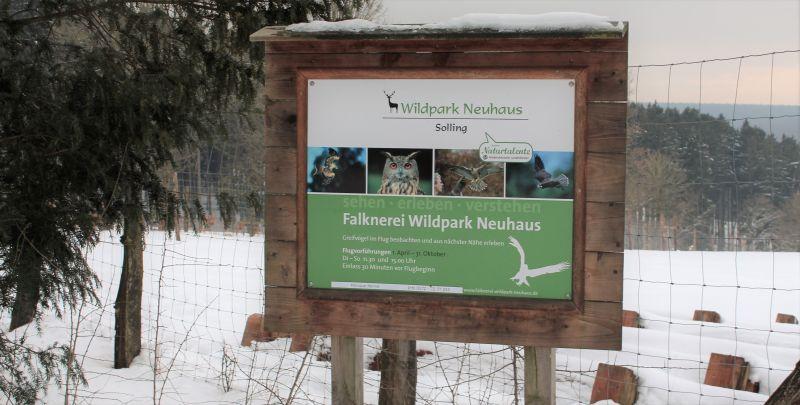 Falknerei Wildpark Neuhaus