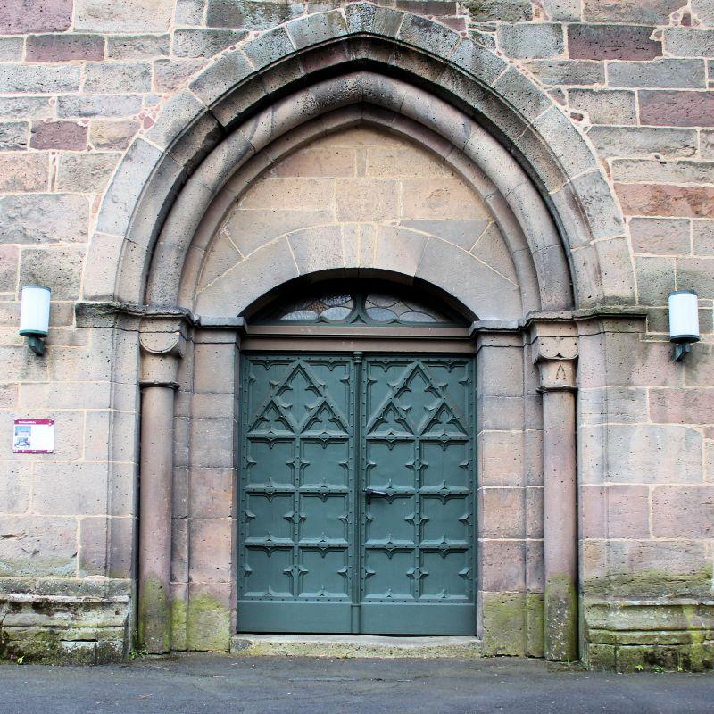 Kirchenpforte St. Johannis-Kirche Uslar