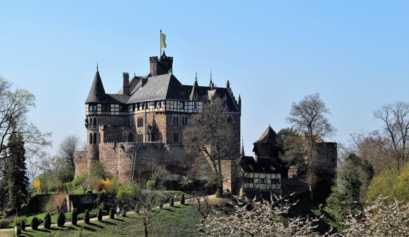 Das Schloss Berlepsch in voller Pracht