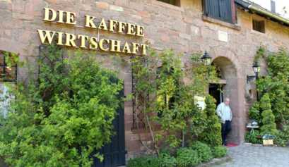 Eingangsbreich der Kaffeewirtschaft