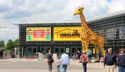 Eingang Legoland Oberhausen