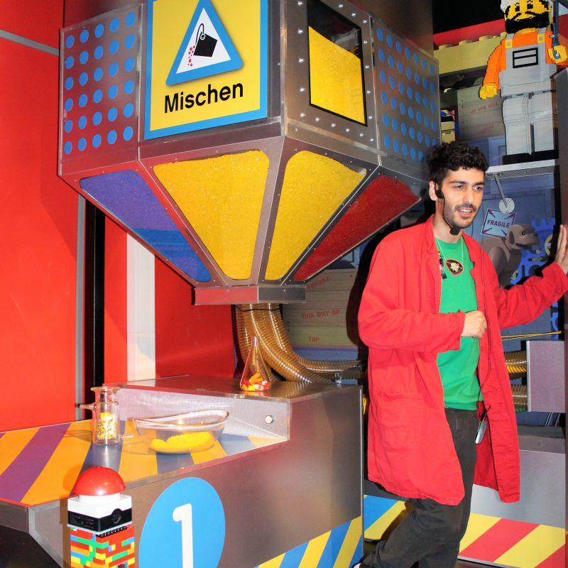 Mischmaschine der LEGO Fabrik