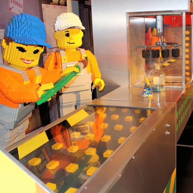 Druckvorgang der LEGO Fabrik