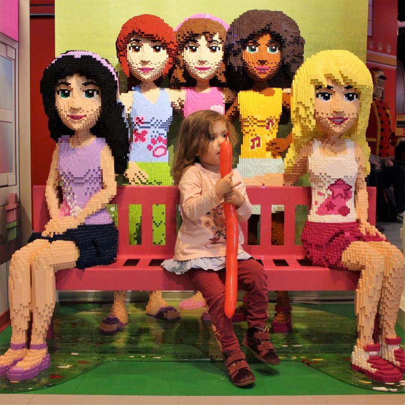Olivia, Stephanie, Emma, Andrea und Mia.