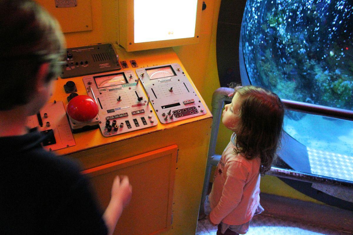 Forschungs-U-Boot zum Anfassen und Ausprobieren