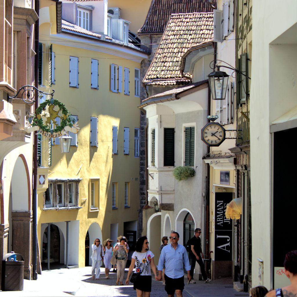 Mittelalterliche Altstadt Merans