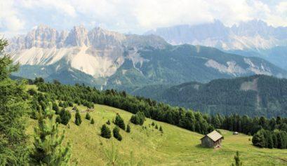Die Lüsner Berge und ihr Dolomiten-Panorama