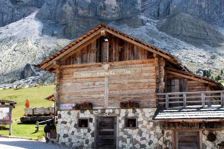 Munt de Fornella - Berghütte