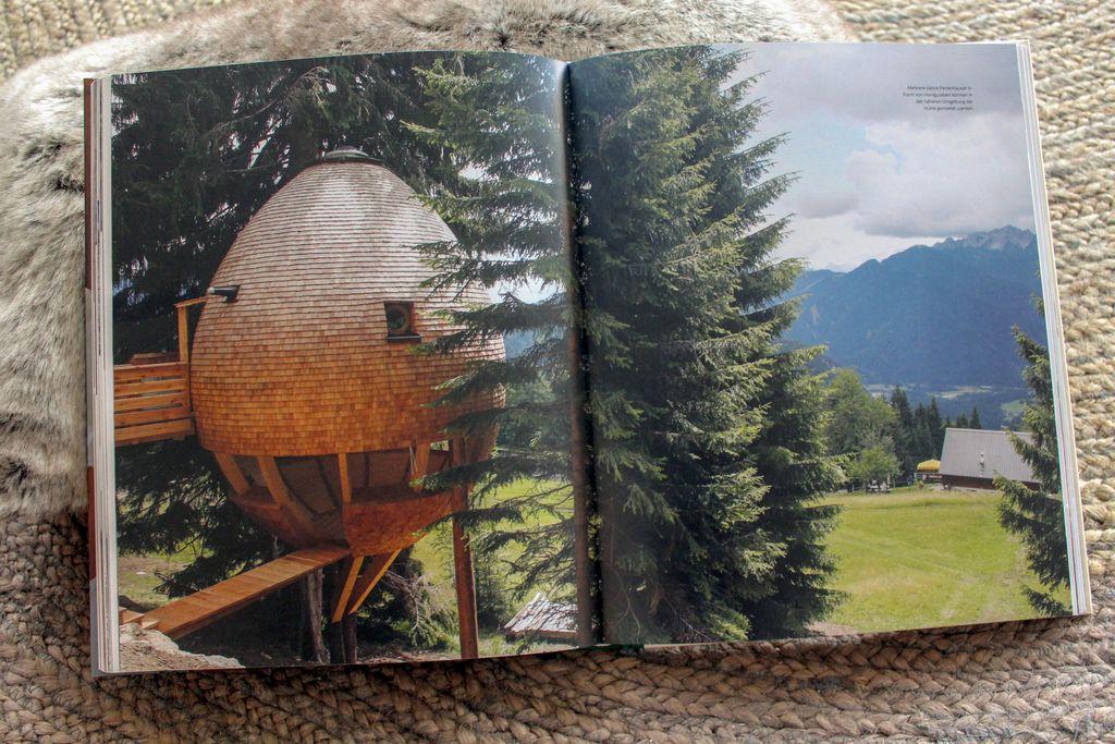 ußergewöhnlich schlafen in den Bergen: Das Schlafei der Malga Priu