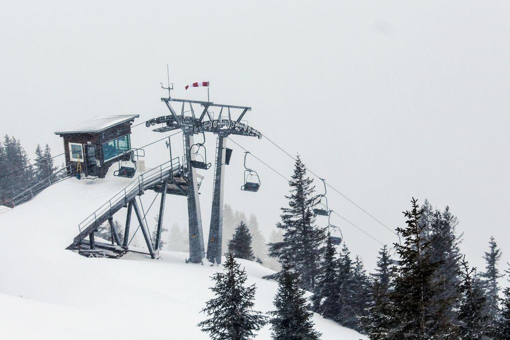 Doppelsessellift Walmendingerhornm erbaut 1972