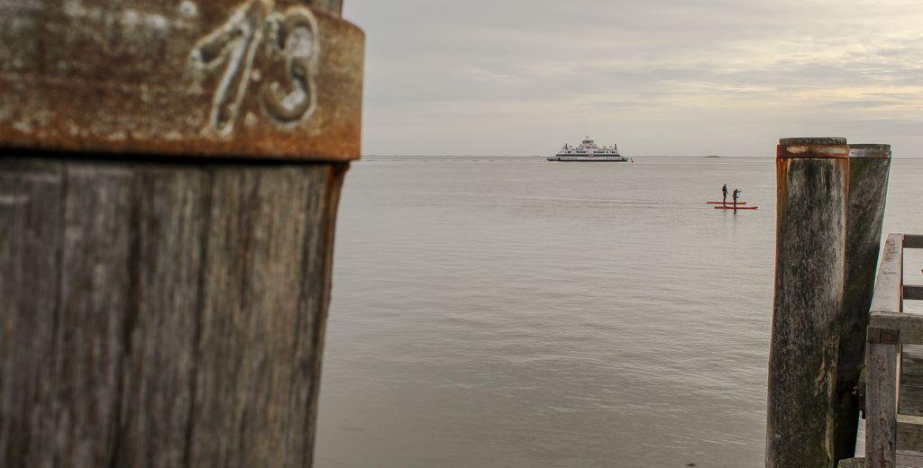Fährfahrt mit der WDR-Reederei